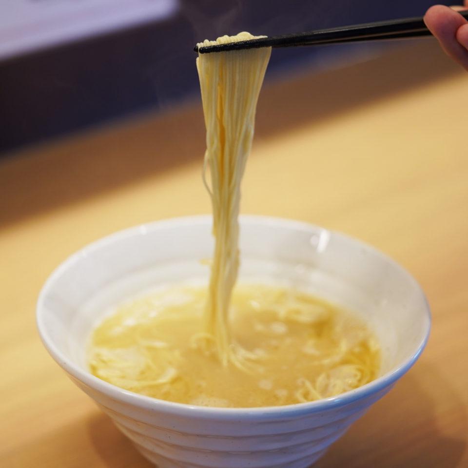 麺GO家新琴似店、細麺開始!