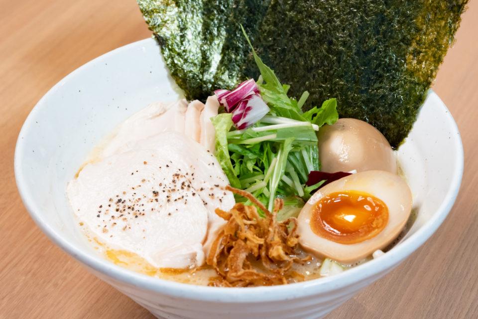 麺GO家/鶏白湯極ラーメン麺GO家盛り